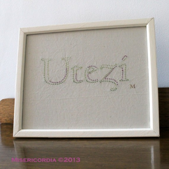 Utezi hand embroidery - Misericordia 2013
