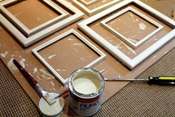 frames and paint